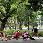 ジョギング トラブル&ケア 日比谷公園
