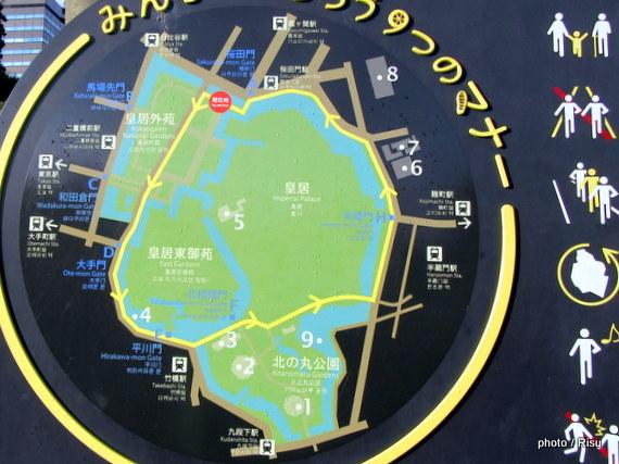 皇居ジョギングコース