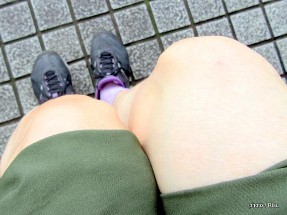 膝が痛い。