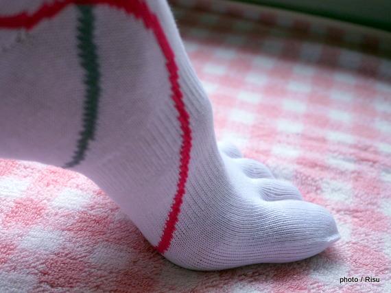 ミズノランニング用靴下履いてみた感想