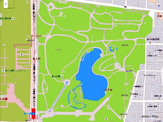 舎人公園ジョギングコース