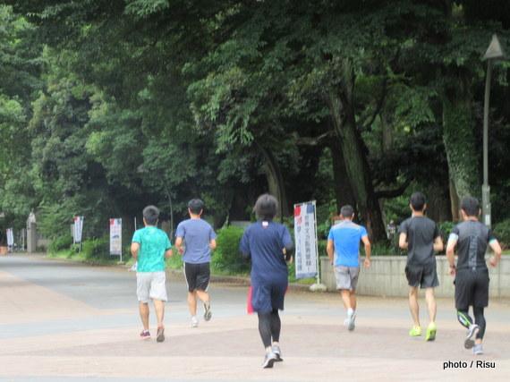 上野恩賜公園ジョギング