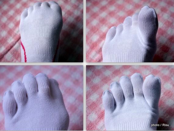 ミズノ5本指靴下